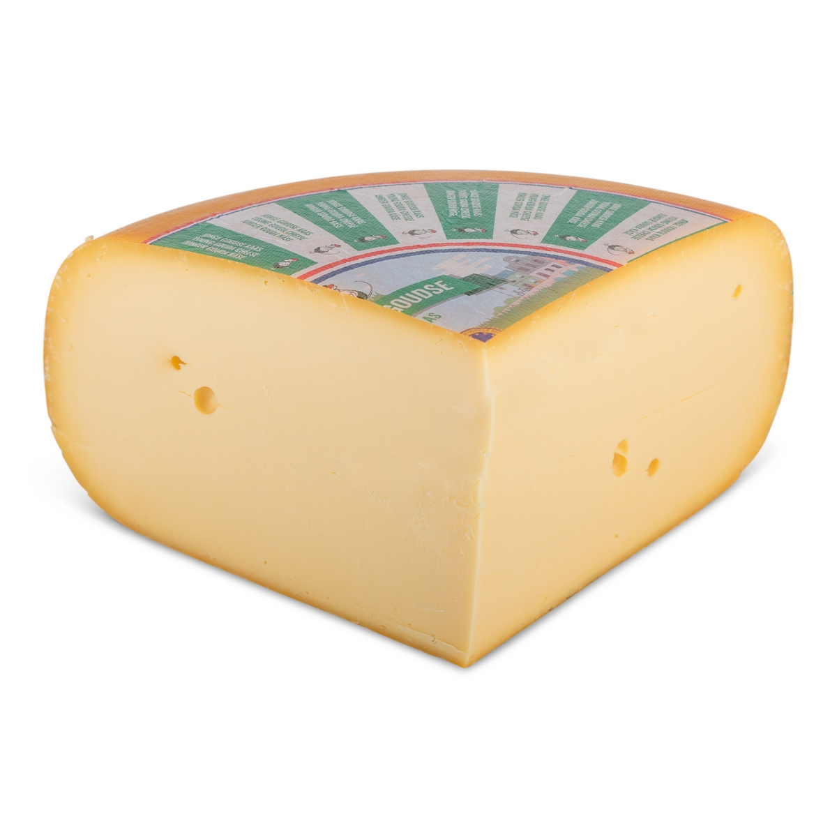 Young cheese (+/- 4 weeks matured)