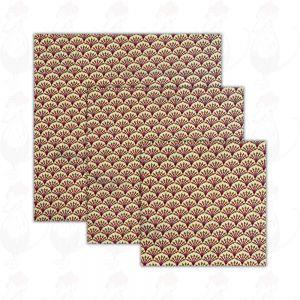 3-pack   Beeswax Wrap Kiwi - Cheese Wrap - Dooek   20x20 * 25x25 * 30x30 cm