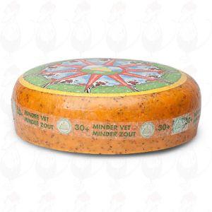 Fromage faible en matières grasses aux herbes 30+   Fromage Gouda de qualité supérieure   Fromage entier 10 kilo