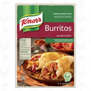 Knorr Wereldgerechten Burritos 223g