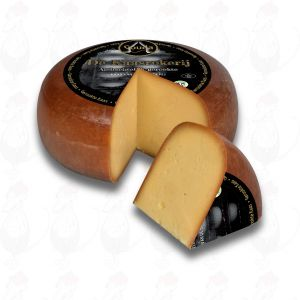 Smoked Gouda Cheese - Exclusive | Entire cheese 5,4 kilo - 19.8 lbs