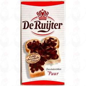 De Ruijter chocolate flakes pure