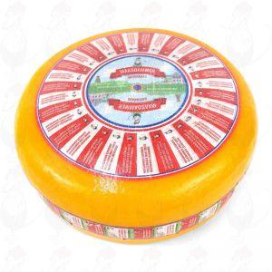 Fromage à trous Maasdam | Qualité supérieure | Fromage entier 12,5 kilo
