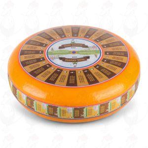 Vieux fromage Gouda | Fromage Gouda de qualité supérieure | Fromage entier 12 kilo