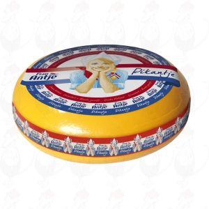 Fromage Pikantje van Antje | Fromage Gouda de qualité supérieure | Fromage entier 12 kilo