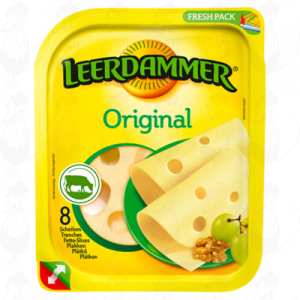 Sliced Leerdammer Cheese Original 45+ | 160 grams in slices