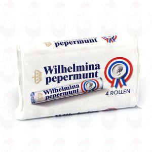 4 rolls of Wilhelmina peppermints
