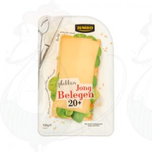 Huismerk Jong Belegen Plakken Kaas 20+ 190g