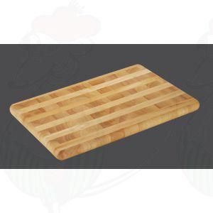 Snijplank kopshout 51 x 35 x 3,5 cm - Rubberhout