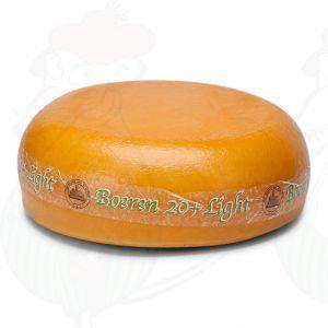 Fromage de ferme faible en matières grasses 20+   Fromage Gouda de qualité supérieure   Fromage entier 10.5 kilo
