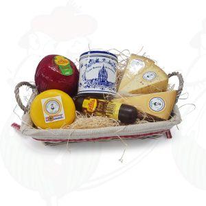 Panier de fromage et bonbon