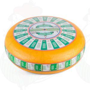 Fromage Gouda jeune | Fromage Gouda de qualité supérieure | Fromage entier 12 kilo