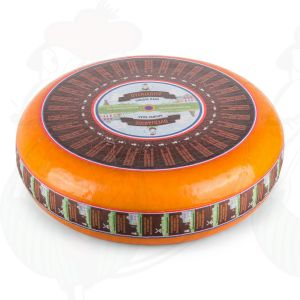 Vieux extra fromage Gouda | Fromage Gouda de qualité supérieure | Fromage entier 11 kilo