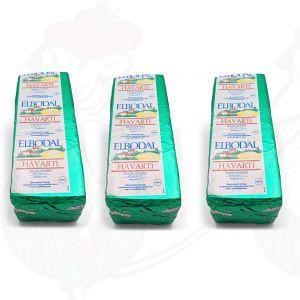 3 X Tilsiter Havarti | Entire cheese 8 kilo / 17.6 lbs