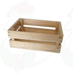 Mini wooden crate - 29x19x11,5cm