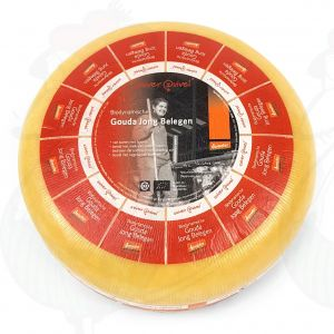 Semi Matured Gouda Organic Biodynamic cheese - Demeter | Entire cheese 5 kilo / 11 lbs