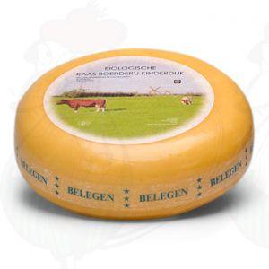 Fromage affiné biologique | Fromage Gouda de qualité supérieure | Fromage entier 5,4 kilo