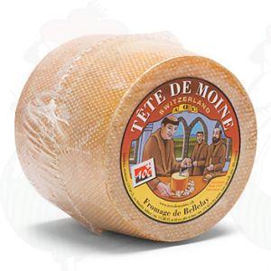 Tête de Moine - Ganzer Käse | 850 Gramm | Premium Qualität