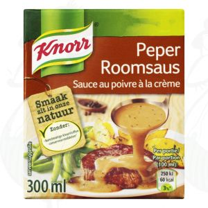 Knorr Roomsaus Peper 300ml