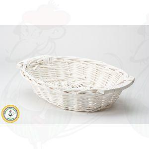 Cheese Basket White 38x28x8