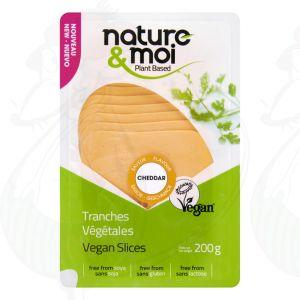 Nature & Moi Chedddar slices 200gr
